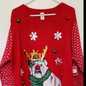 Women's plus size ugly sweater